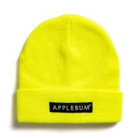 APPLEBUM LOGO KNIT CAP[NEON YELLOW] - 1920903
