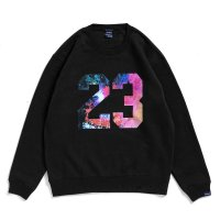 APPLEBUM 23 CREW SWEAT[BLACK] - 1920403