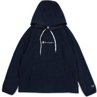 Champion LOGO PULLOVER FLEECE JACKET[DARK NAVY] - C3-N611
