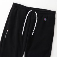 Champion FLEECE PANTS[BLACK] - C3-Q208