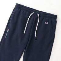 Champion FLEECE PANTS[DARK NAVY] - C3-Q208