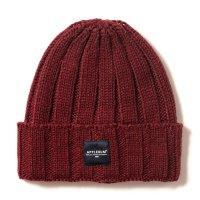 APPLEBUM PATCH KNIT CAP[BURGUNDY] - 1920907