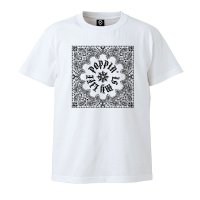 DC CLOTHING POPPIN IS MY LIFE T-SHIRTS[WHITE] - For POPPER