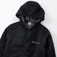 Champion HOODED JACKET[BLACK] - C3-Q605