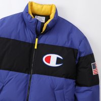 ★★★ SALE ★★★ Champion DOWN JACKET[DK BLUE] - C3-Q607<img class='new_mark_img2' src='https://img.shop-pro.jp/img/new/icons34.gif' style='border:none;display:inline;margin:0px;padding:0px;width:auto;' />