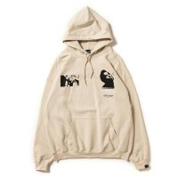 APPLEBUM PHOTO PRINT SWEAT PARKA[SAND] - 1920405<img class='new_mark_img2' src='//img.shop-pro.jp/img/new/icons8.gif' style='border:none;display:inline;margin:0px;padding:0px;width:auto;' />