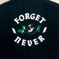FORGET NEVER ANIMAL CYPHER T-SHIRT[NAVY]