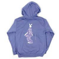 FORGET NEVER  BUNNY LOOKING BACK HOODIE[VIOLET]