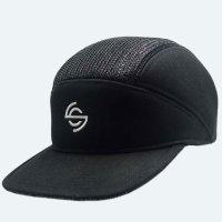 SPIN CONTROL 5 PANEL BREAK CAP[NYLON/BLACK] - スピンコントロール ナイロン ブレイクキャップ