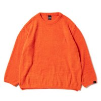 APPLEBUM SHAGGY L/S CREW NECK [ORANGE] - 1920101