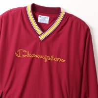 Champion V-NECK JACKET[BURGUNDY] - C3-R604