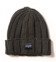 APPLEBUM PATCH KNIT CAP[GREY] - 1920907 (OSKstock)