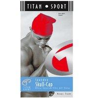 TITAN SPORT SPANDEX SKULL-CAP[RED]