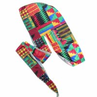 IMP AFRICAN PATTERN DU-RAG[2Color]