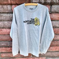 RUGGED THE NORTHERN LIGHTS L/S T-SHIRTS [GRAY]【SALE除外品】