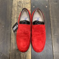 [現品限り/50%OFF]BALANCE CLASSIC SLIPON MENS 25.0cm(RED) - ジャンク品
