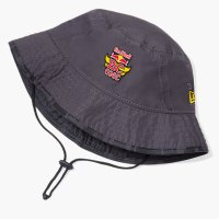 THE RED BULL BC ONE COLLECTION NEW ERA MOTION BUCKET HAT[GREY] - BCO20021【SALE除外品】