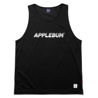 APPLEBUM LOGO BASKETBALL MESH JERSEY [BLACK] - 2010106<img class='new_mark_img2' src='https://img.shop-pro.jp/img/new/icons8.gif' style='border:none;display:inline;margin:0px;padding:0px;width:auto;' />