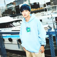 FORGET NEVER CLOUD9 HOODIE【LIGHT BLUE】