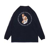 APPLEBUM BB2111102 Barcelona'92 Boy L/S T-shirt [NAVY]