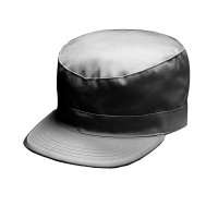 MILITARY FATIGUE CAP (CHARCOAL) - ワークキャップ