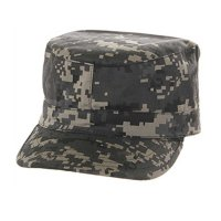 MILITARY FATIGUE CAP (DIGITALCAMO) - ワークキャップ