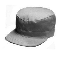 MILITARY FATIGUE CAP (GRAY) - ワークキャップ