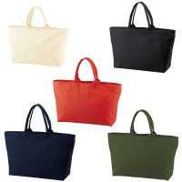 UNITED ATHLE 1515 HEAVY CANVAS ZIP TOTE BAG[5 Color] - オリジナルプリント対応/オリジナル刺繍対応
