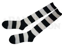 LOCKERS SOX MENS (BLACK/WHITE / 4cm LONG)