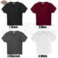 DICKIES SCRUBS TOPS - DOCTOR SHIRT ドクターシャツ