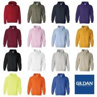 GILDAN HEAVY BLEND 8.0 OZ HOODED SWEATSHIRT[15 color] - T1850 オリジナルプリント/オリジナル刺繍対応