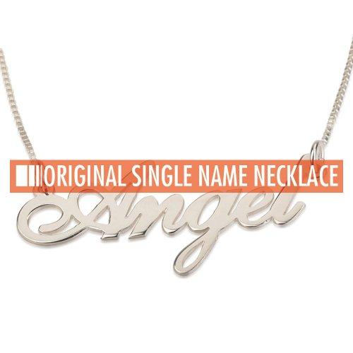 ネームネックレス シングル1mm - ORIGINAL NAMENECKLACE -