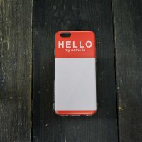 iPhone Case Hello Sticker / iPhone5,5S / iPhone6,6S,6Plus
