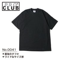 [ PRO CLUB ] HEAVY WEIGHT SHORT SLEEVE TEE 6.4OZ - プロクラブ 無地 Tシャツ (プリント/刺繍対応)