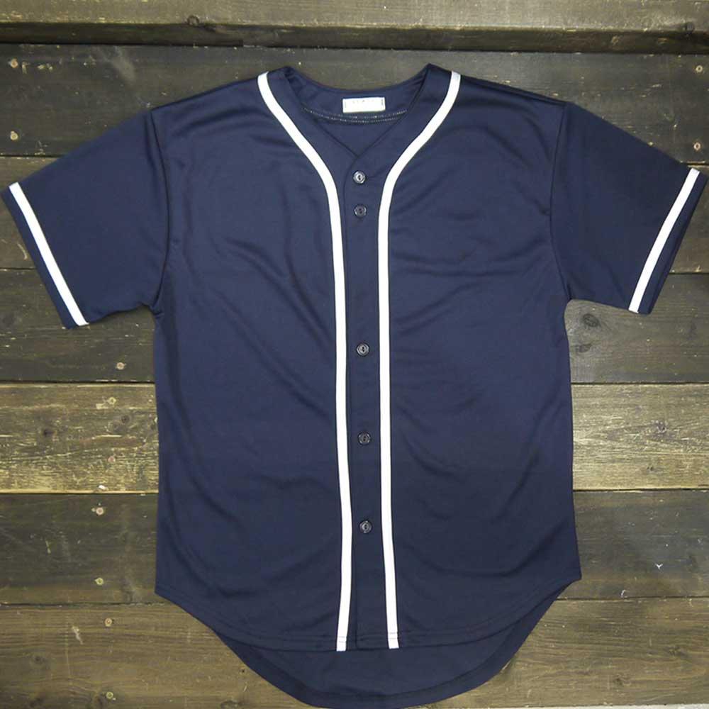 BASEBALL JERSEY SHIRTS - ベースボールシャツ プリント対応