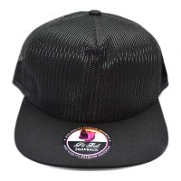 PIT BULL ALL MESH CAP (BLACK)