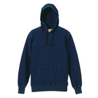 UNITED ATHLE 12.2OZ DENIM SWEAT PARKA - デニムスウェット パーカー