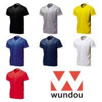 [ WUNDOU ] BASEBALL SHIRTS - ベースボールシャツ プリント対応