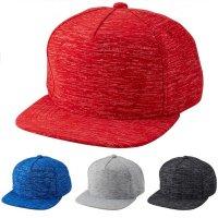 [ UNITED ATHLE ] 9662 MELANGE PRINT FLAT VISOR CAP[4color] - オリジナル刺繍/プリント対応商品