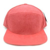 PIT BULL CORDUROY SNAPBACK (RED)