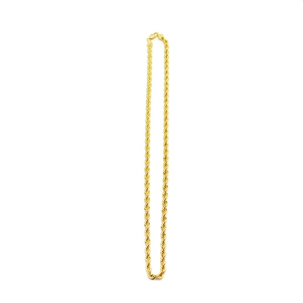 GOLD ROPE CHAIN - ゴールドチェーン61cm (5mm)