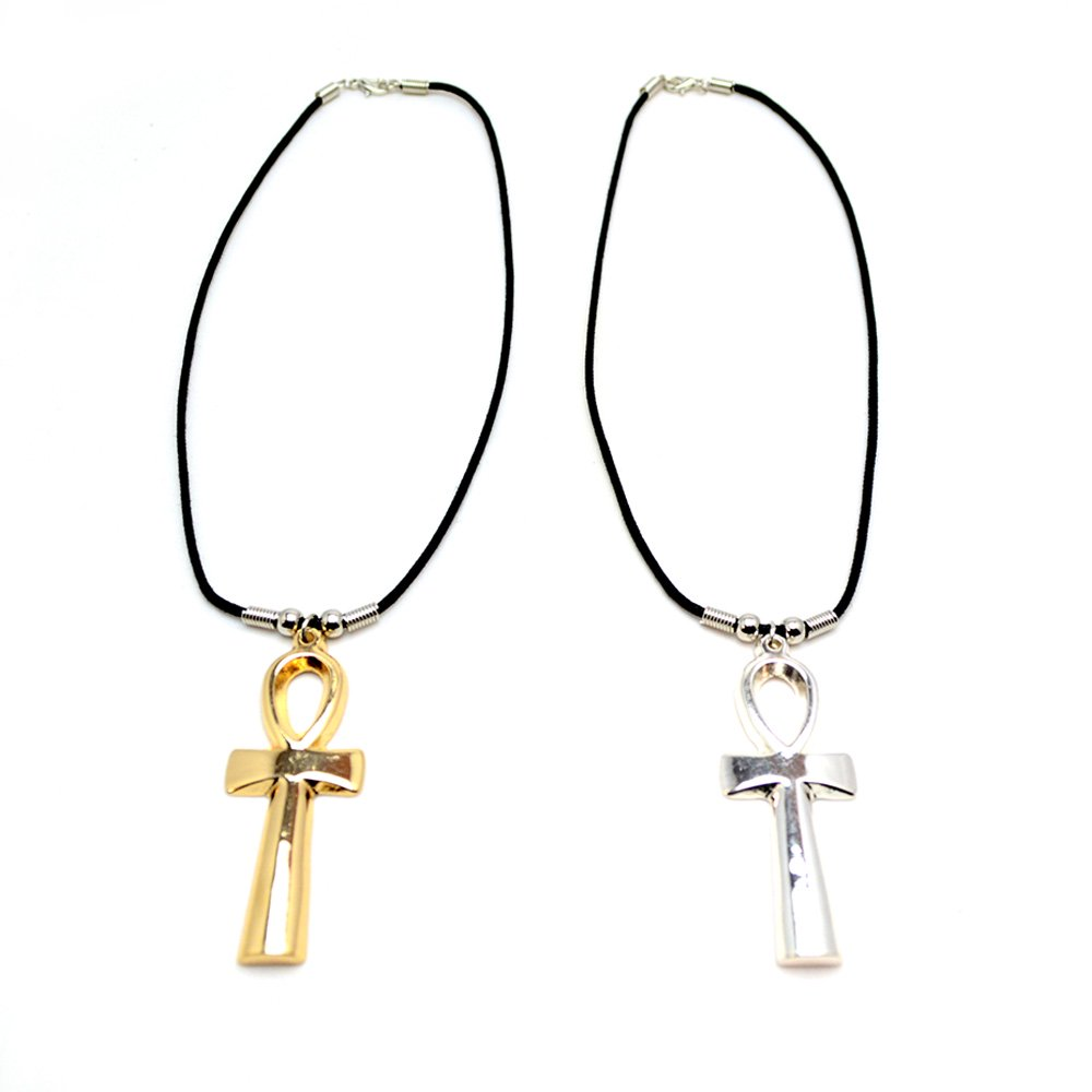 ANKH METAL NECKLACE