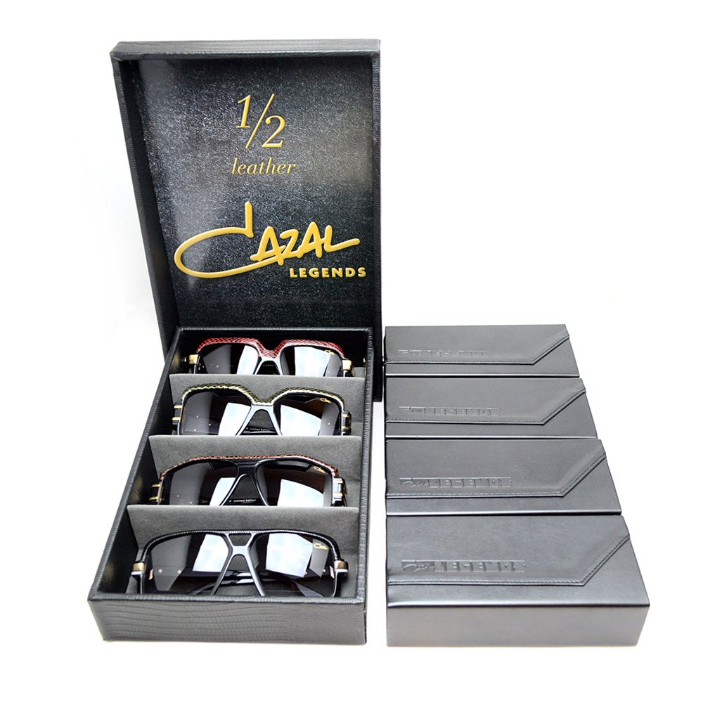 CAZAL LEGENDS SUNGLASSES 1/2 LEATHER ...