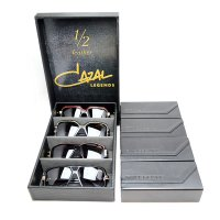 CAZAL LEGENDS SUNGLASSES 1/2 LEATHER LIMITED EDITION