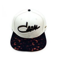 CAZAL CAP WHITE LEATHER (WHITE)
