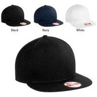 [ NEW ERA ] FLAT BILL ADJUSTABLE CAP/SNAPBACK/9FIFTY  - オリジナル刺繍/プリント対応商品