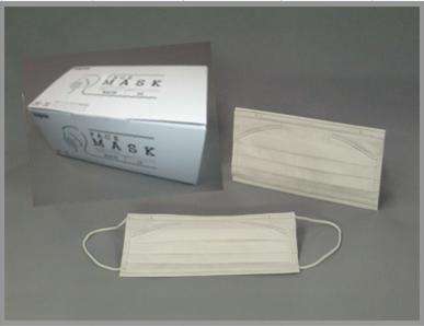 ホープスフェイスマスク JM-33W ホワイト (50枚×5箱)