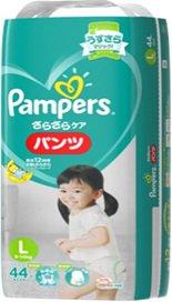 パンパース さらさらケアパンツ Lサイズ スーパージャンボパック