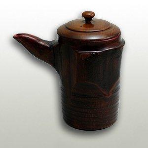 天然木すり漆酒器(トチ材)