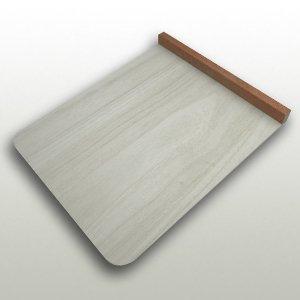 桐の本体とマホガニーの立ちの小間板 巾270mm・奥330mm・高24mm